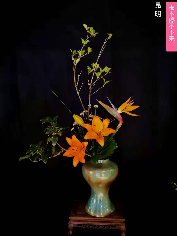 中式插花傳統插花